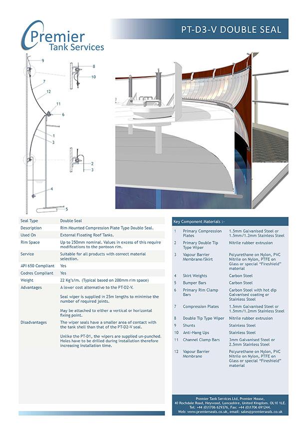 PT-P3 Mechanical Shoe Seal