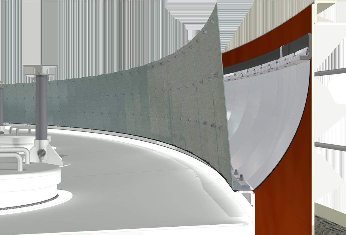 Integral Foam Dam - Click to Enlarge