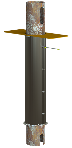 PTS Guide Pole Sleeves - Click to Enlarge